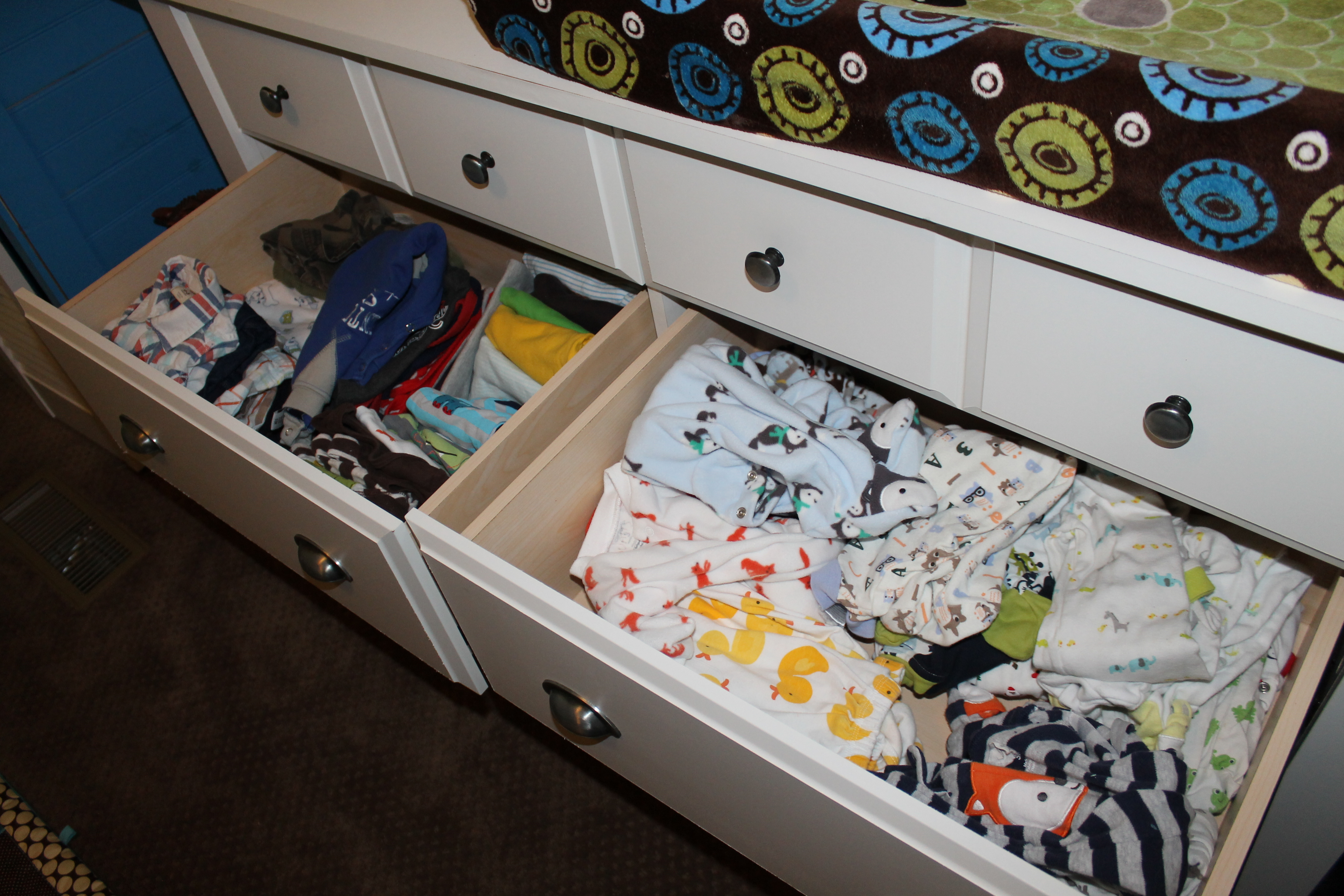 Baby Boy Nursery Tour: Baby Boy's Peek-a-Boo Monster Nursery